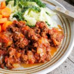 Mid-Week Meal Plan, 5:2 Diet and Hungarian Savoury Minced Beef Recipe