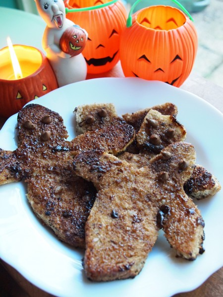 Just for the Kids - Ghoulish Ghostly Cinnamon Toast for Halloween!