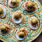 Just for the Grown-Ups for All Hallow's Eve – Creepy Crawly Curried Devilled Eggs!
