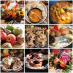The Lavender and Lovage Sunday Patchwork Quilt of Recipes and Photos