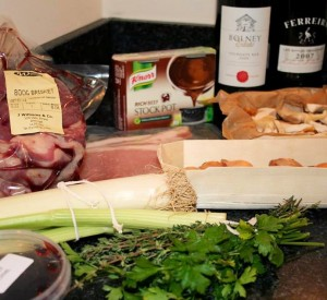 Boeuf Bourguignon with Wild Mushrooms Box from Knorr