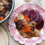 The Wartime Kitchen and British Restaurants: Day Four – Black Pudding Hot-Pot Recipe