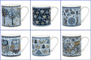 Blue Story Churchill Mugs