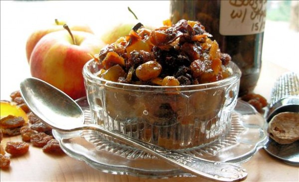 Boozy Fat-Free Mincemeat