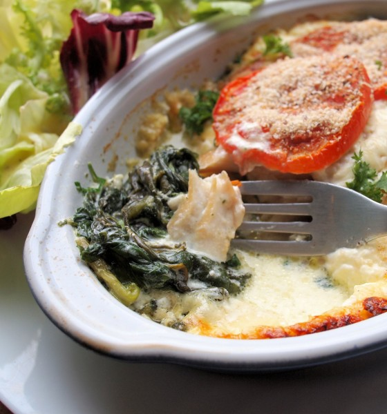 Easy Smoked Haddock au Gratin Recipe