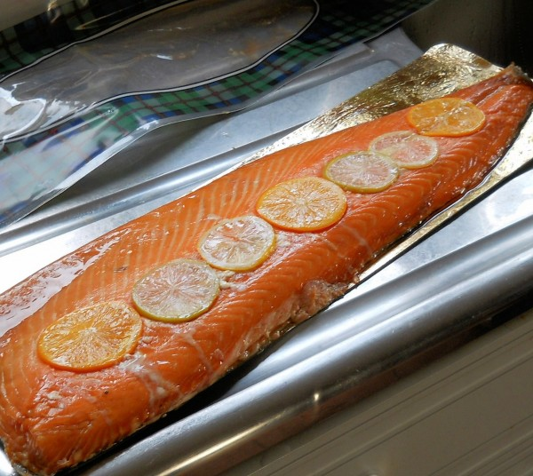 Delish Fish Honey Roast Salmon Side