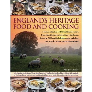 My Random Recipe book this month was: England's Heritage Food and Cooking Book