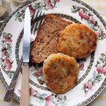WW1 WW2 Wartime Bacon and Potato Cakes