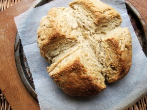 Milk Fadge: Emergency Bread (No Yeast) Recipe