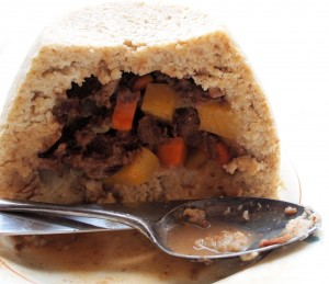 Scottish Vegetable & Meat Pudding Recipe