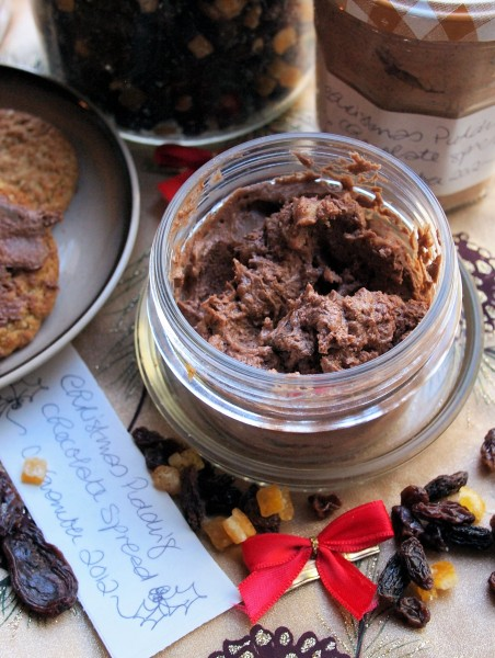Christmas Pudding Chocolate Spread