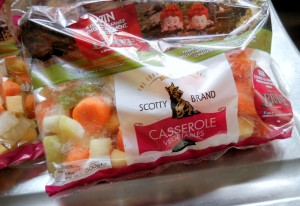 Scotty Brand Prepared Vegetables for Casseroles