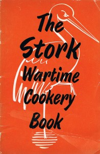 The Stork Wartime Cookery Book Cover