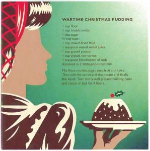 Wartime Christmas Pudding