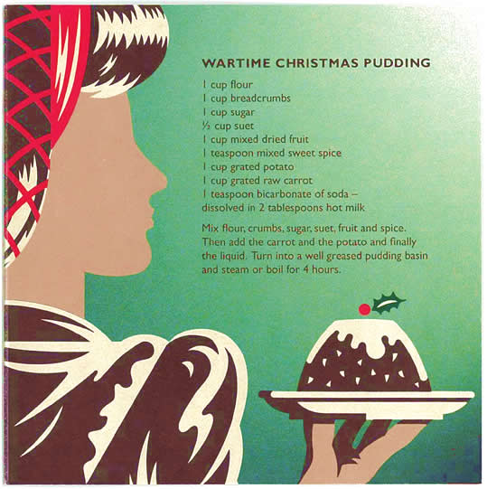 Wartime Christmas Pudding