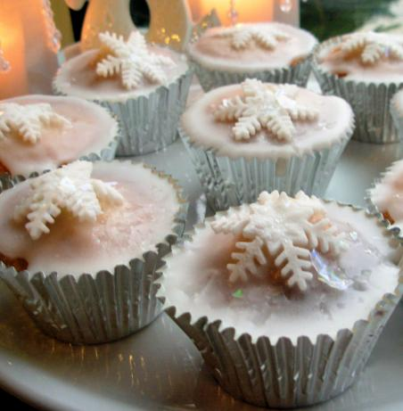 Magical Christmas Fairy Cakes