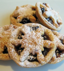 Snowflake Mince Pies