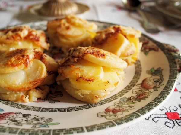 Mini Potato Dauphinoise Muffins for Christmas Day (Recipe)