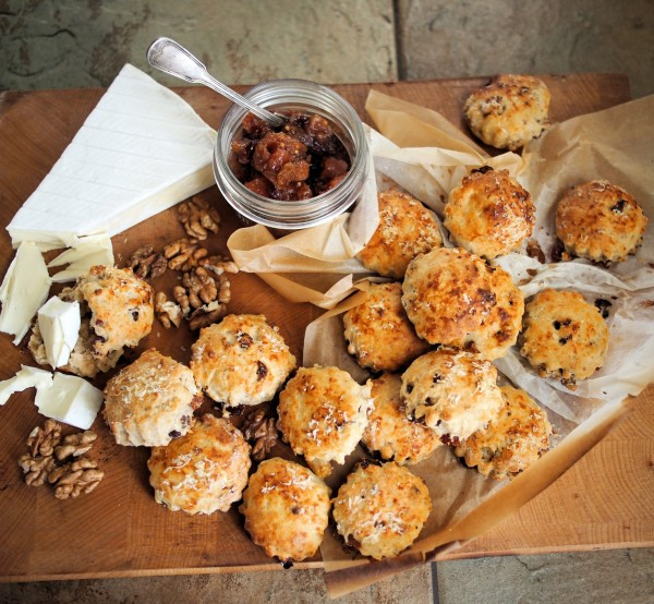 ... Advent Calendar and Mini Cheese, Cranberry and Walnut Scones Recipe