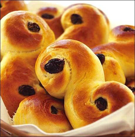Saffron Cakes Lussekatter