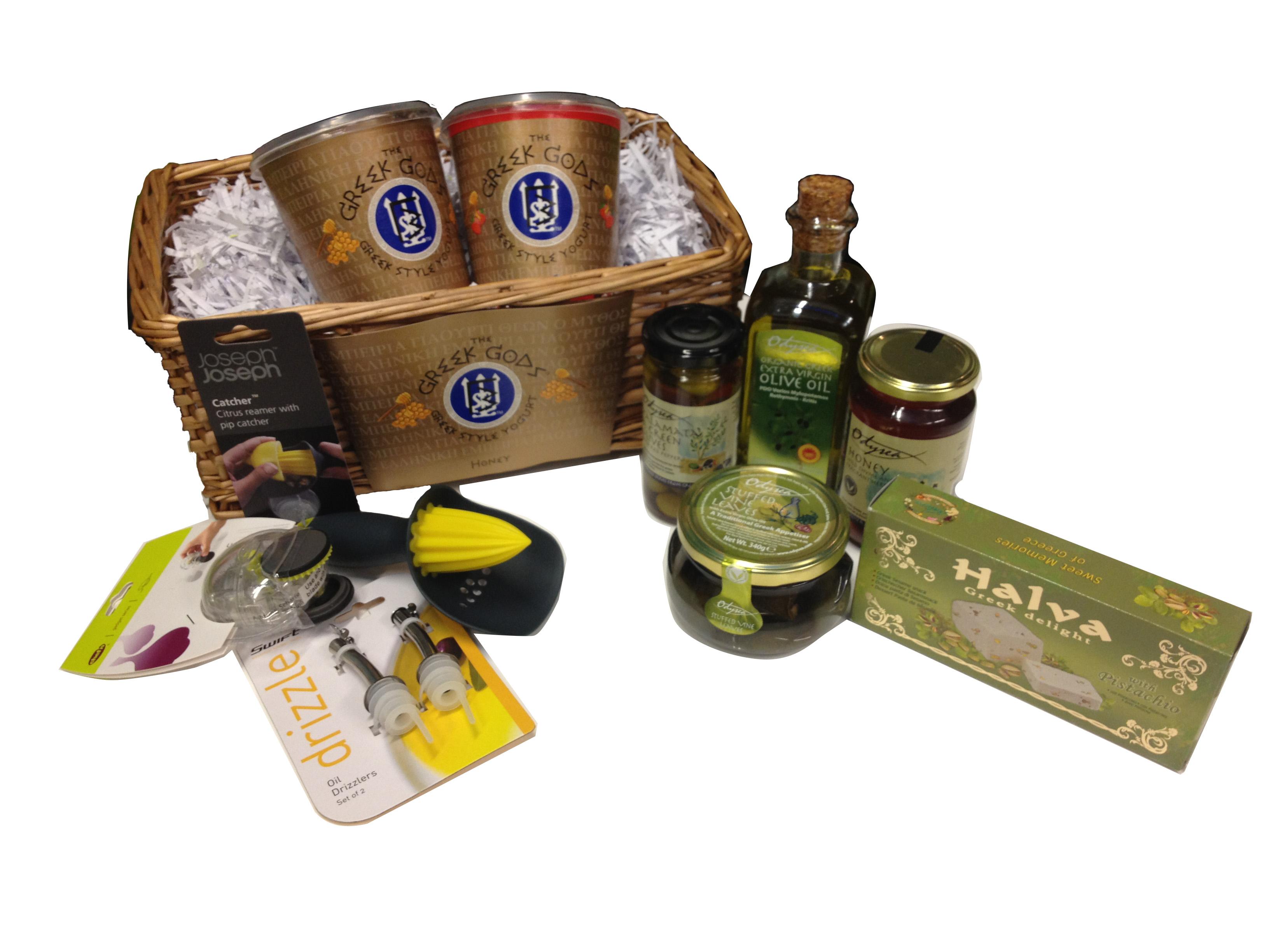Giveaway: A Fabulous Greek Food Hamper from Greek Gods Yogurt