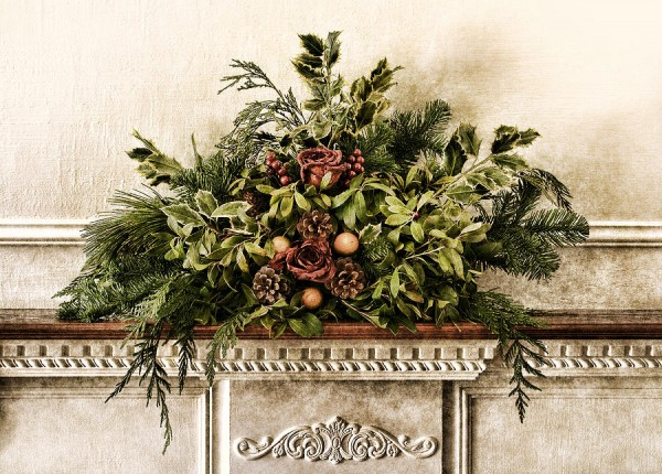 Victorian Mantle Decoration