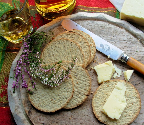 Oat Cakes and Cheese