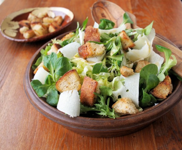 Leaves, Cheese and Bread: A Winter Salad with Nigel Slater
