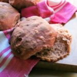 Think Pink! Real Bread: Beetroot and Walnut Bread Rolls Recipe
