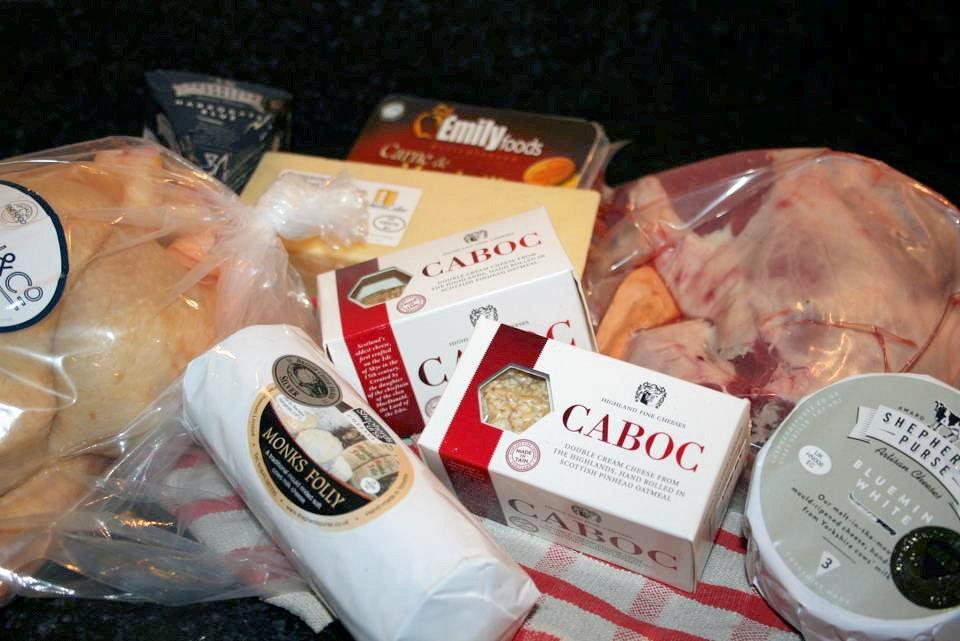 Farmison Meat and Cheese Box
