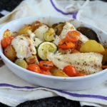 Recipe: Low-Calorie Fish on Friday – Mediterranean Wild Haddock Gratin (270 calories)