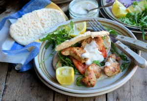 Cajun Chicken Kebab