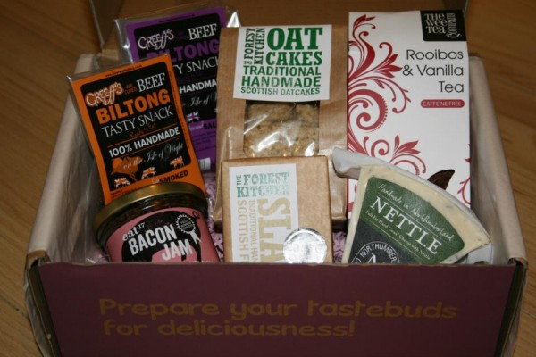 "Flavourly Artisan ""Tasting"" Box"