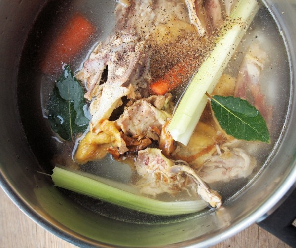 Home-Made Chicken Stock Recipe