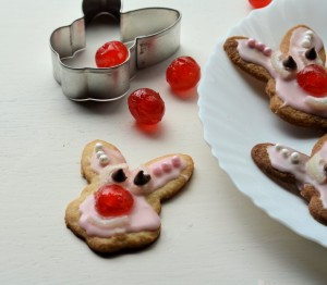 Red Nose Bunnies (Biscuits/Cookies)
