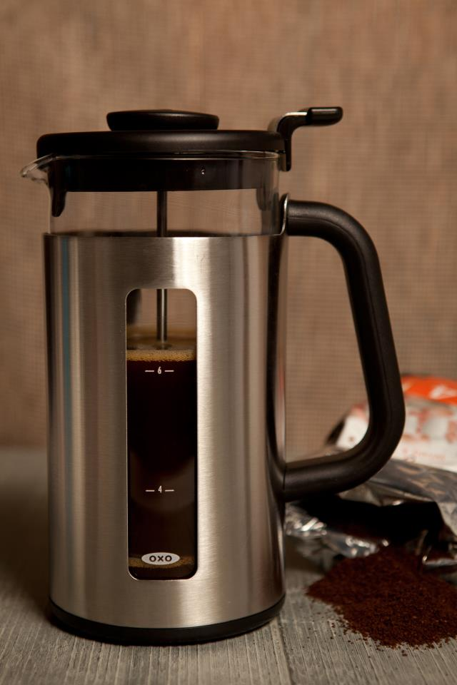 Review: French Press Coffee with Oxo Good Grips and Douwe Egberts