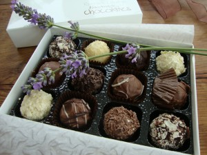 Lavender Chocolates