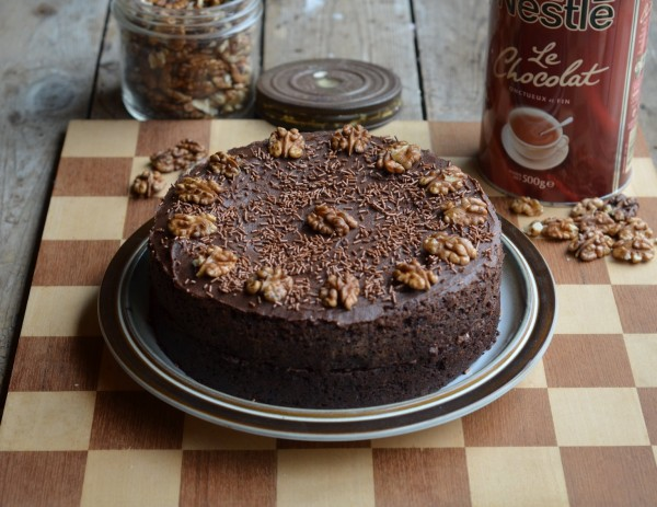 Galaxy Chocolate, World Baking Day and The Famous Drinking Chocolate Cake Recipe