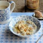 "My Mum's ""Teacup Apricot and Honey Porridge"" Recipe for a Cold March Morning"