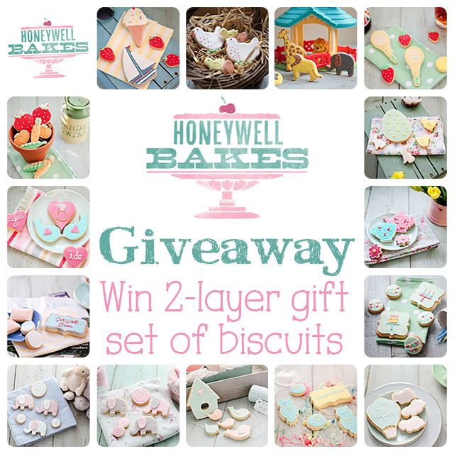 Giveaway: Win 2-Layer Gift Set of Biscuits from Honeywell Bakes