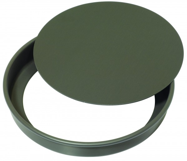 """A versatile all rounder, this Flan Tin with Loose Base is well suited to flans, quiches and tarts whether savoury or sweet. Available in 10"""" or 12"""" with a loose base to help you carefully remove your pastry from the tin."""