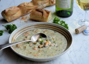 Mussel, Onion and Parsley Chowder