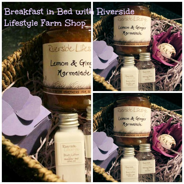 Breakfast in Bed for Mum on Mother's Day with Riverside Lifestyle Farm Shop