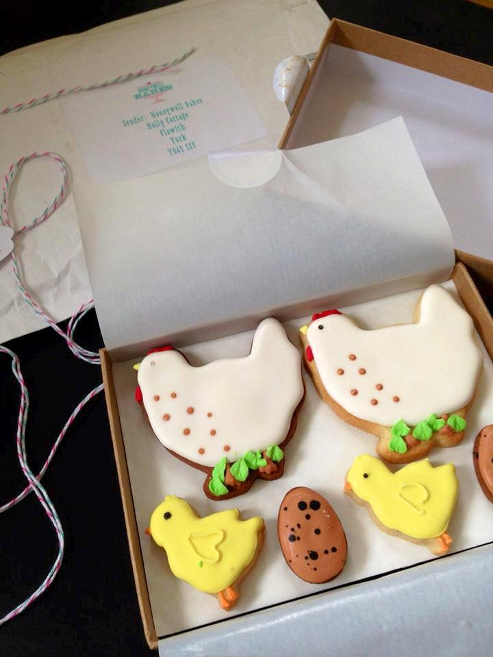 Chickens a lovely easter present by post from honeywell bakes a lovely easter present by post from honeywell bakes review negle Choice Image