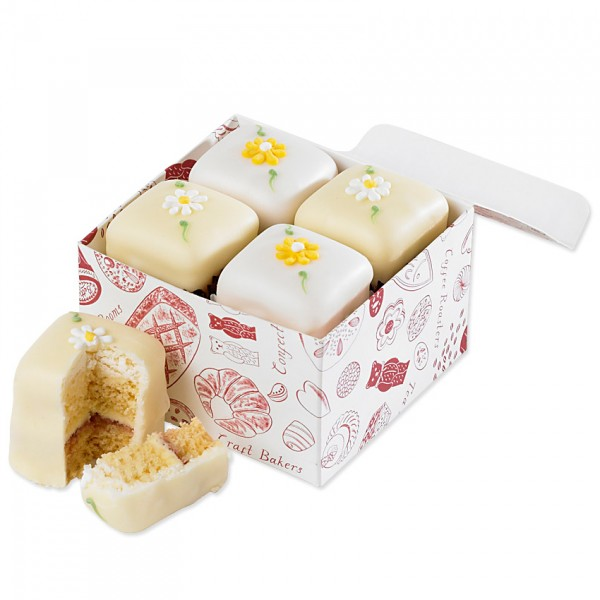 Spring Flowers Fondant Fancies