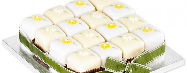 Giveaway: Win a Betty's Spring Flowers Fondant Fancy Party Cake worth £25