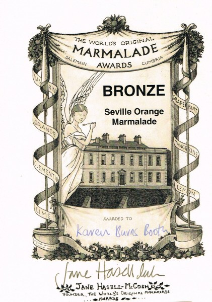 Marmalade Awards Bronze