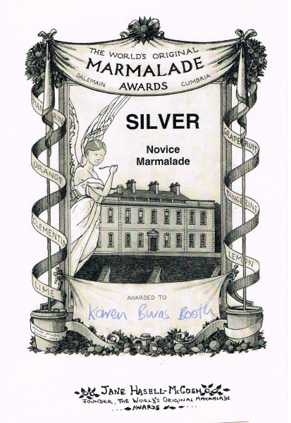 Marmalade Awards Silver