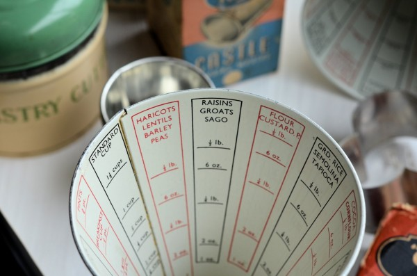 """Made in England"" Vintage Kitchenalia - Vintage Tala Measuring Cone"