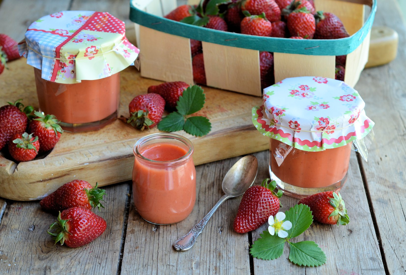 Studio Pottery Baguette And Fresh Strawberry Curd Recipe